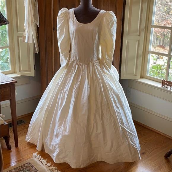 Laura Ashley Dresses Laura Ashley Vintage Ivory Wedding Dress Poshmark